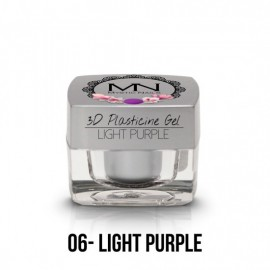 Geluri UV Colorate - Gel Plastilină 3D- 06 - Light Purple - 3,5g