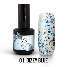 Gel Lac - Mystic Nails Dizzy no.01. - Dizzy Blue 12 ml