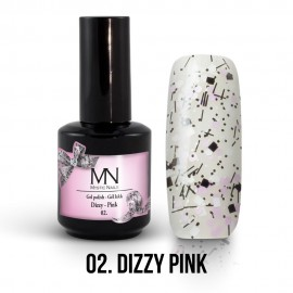 Gel Lac - Mystic Nails Dizzy no.02. - Dizzy Pink 12 ml