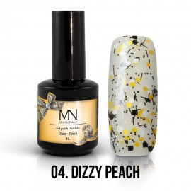 Gel Lac - Mystic Nails Dizzy no.04. - Dizzy Peach 12 ml