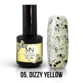 Gel Lac - Mystic Nails Dizzy no.05. - Dizzy Yellow 12 ml