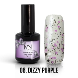 Gel Lac - Mystic Nails Dizzy no.06. - Dizzy Purple 12 ml