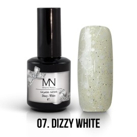 Gel Lac - Mystic Nails Dizzy no.07. - Dizzy White 12 ml