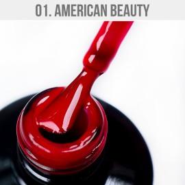 Gel Lac - Mystic Nails 01. - American Beauty 12 ml