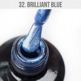 Gel Lac - Mystic Nails no.32. - Brillant Blue 12 ml