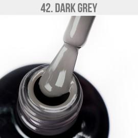 Gel Lac - Mystic Nails 42 - Dark Grey 12 ml
