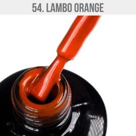 Gel Lac - Mystic Nails 54 - Lambo Orange 8 ml
