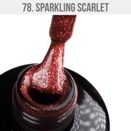 Gel Lac - Mystic Nails 78 - Sparkling Scarlet 12 ml