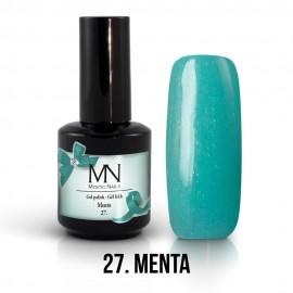 Gel Lac - Mystic Nails no.27. - Menta 12 ml