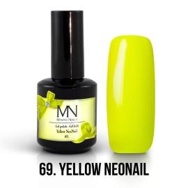Gel Lac - Mystic Nails no.69. - Yellow NeoNail 12 ml