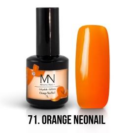 Gel Lac - Mystic Nails no.71. - Orange NeoNail 12 ml