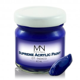 Supreme Acrylic Paint - no.07 - Indaco - 40 ml