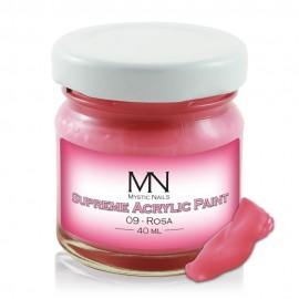 Supreme Acrylic Paint - no.09 - Rosa - 40 ml