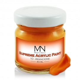 Supreme Acrylic Paint - no.10 - Arancione - 40 ml