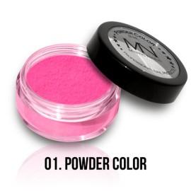 Pudră acrilică colorată - 01 - 8 ml